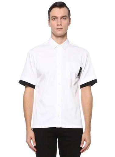 Neil Barrett Neil Barrett   İngiliz Yaka Gömlek 101546424 Beyaz